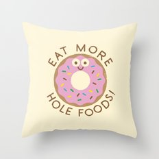 Do's and Donuts Throw Pillow