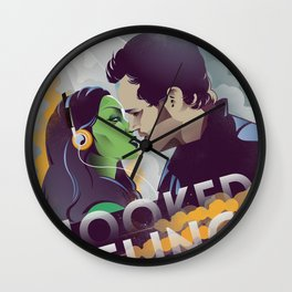Hooked on a feeling Wall Clock