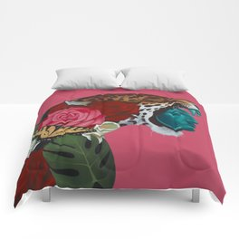Jaguar Warrior Comforters