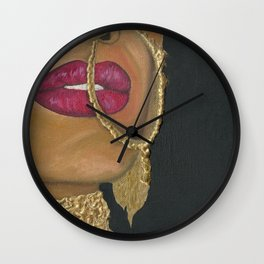 Woman With Jewelry Wall Clock