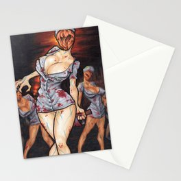 The nurses will see you now Stationery Cards