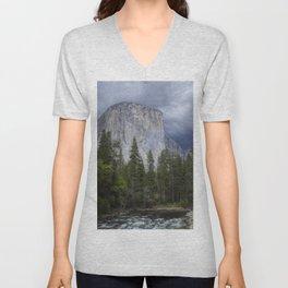 Yosemite National Park, El Capitan, Yosemite Photography, Yosemite Wall Art Unisex V-Neck