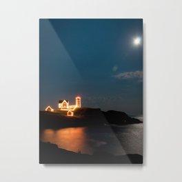 Nubble Light Metal Print
