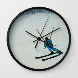 All Downhill Wall Clock