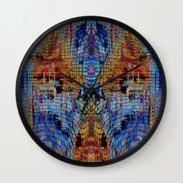 DIS-MOSAIC Wall Clock