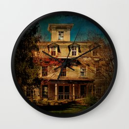 This Old House Wall Clock