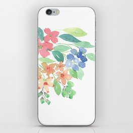 Cluster of flowers iPhone Skin