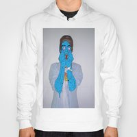 zombie Hoodies featuring Zombie by Digital Death