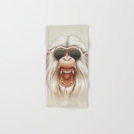 The Great White Angry Monkey Hand & Bath Towel