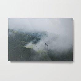 Fog at Valle del Cocora Metal Print