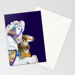 Carousel Horse - Perpetual Race Stationery Cards