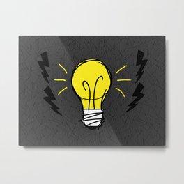 Lights Up Metal Print