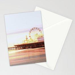 Santa Monica Pier Sunrise Stationery Cards