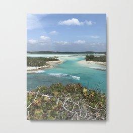 Columbus Bay Long Island Bahamas Metal Print