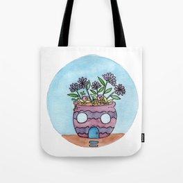 In The Garden: September Tote Bag