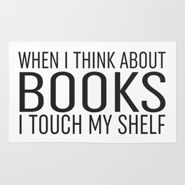 I Touch My Shelf Rug