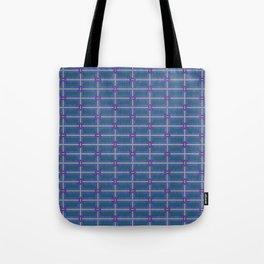 Bold and Blue Modern Tote Bag