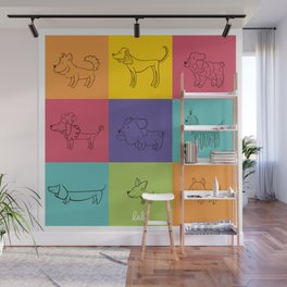 2018 Año del perro!! Wall Mural