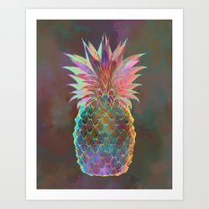 Pineapple Express Art Print