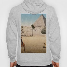 Vintage Pyramid : Grand Pyramid Gizeh Egypt 1895 Hoody