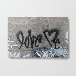 Curtis Kulig NYC Street Art Metal Print