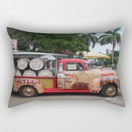 Rum Runner Rectangular Pillow