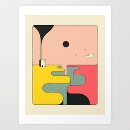 LIMBO 2 Art Print