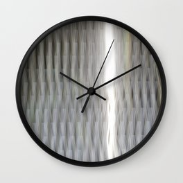 Threading Light Wall Clock