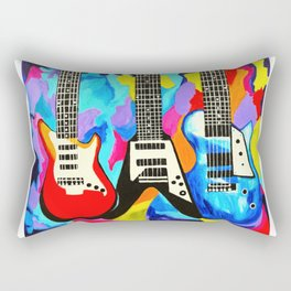 Fancy Guitars Rectangular Pillow