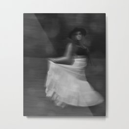 It's a Blur Metal Print