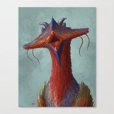 Beak portrait Canvas Print