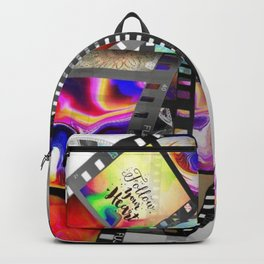 """Follow Your Heart"" Film Design Backpack"