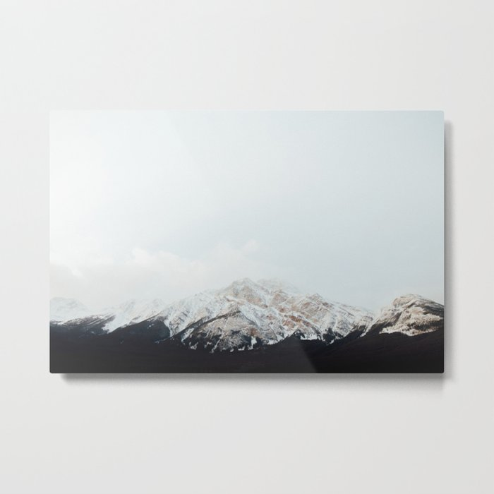 Winter Getaway Metal Print