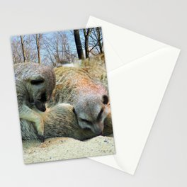 Very tired... Stationery Cards