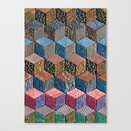 Tumbling Blocks #3 Canvas Print