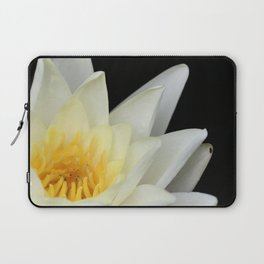 White Lilly 1 Laptop Sleeve