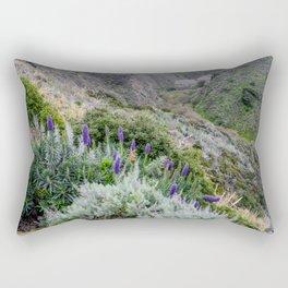 Mountain Paintbrushes (Big Sur) Rectangular Pillow