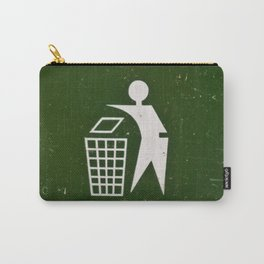 Trash - Put here please! Carry-All Pouch