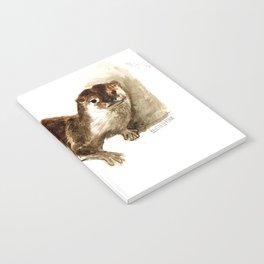 Totem otter: Amblonyx cinerea Notebook