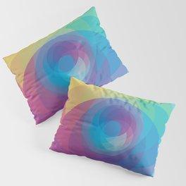 Spiral Rose Pillow Sham