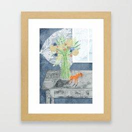 Summertime sadness. Framed Art Print