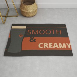 The Weekend Is Here! Have a Pint of Smooth and Creamy (B&O) Rug
