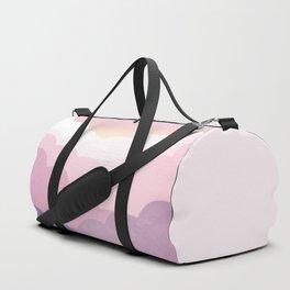 Minimal abstract landscape 01 Duffle Bag