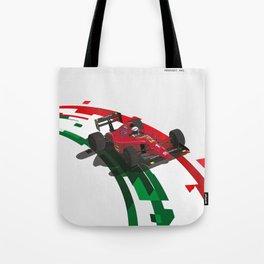 1990 F641 Alain Prost Tote Bag