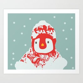It's cold outside Art Print