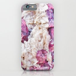 Magical pink crystal - gemstones, photography #Society6 iPhone Case