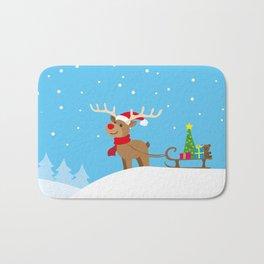 reindeer Bath Mat