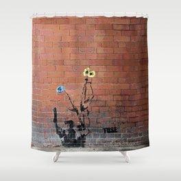 Glasgow rules Shower Curtain