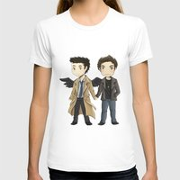 destiel T-shirts featuring Destiel  by agartaart