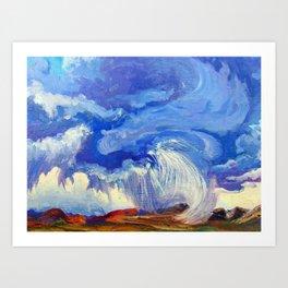 Phoenix Storm Art Print